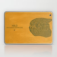 Halo Typography Laptop & iPad Skin