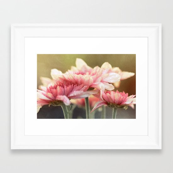 No matter the shadows, your presence is like sunlight on my face. Framed Art Print