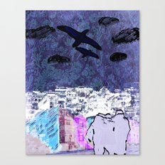 BACK TO HOME Canvas Print