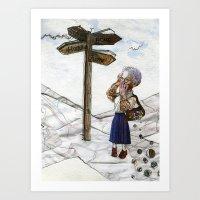 Alzheimer's Disease. Art Print