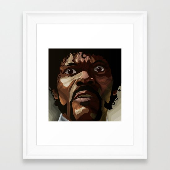 Pulp Fiction - Jules Winnfield Framed Art Print