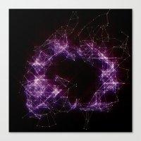 Artificial Constellation Canvas Print