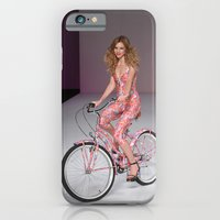 iPhone & iPod Case featuring Girls on Bikes by AllanB