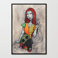 Sally Canvas Print