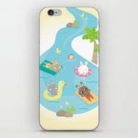 the pool iPhone & iPod Skin