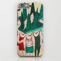 iPhone & iPod Case featuring gnomes by mariana, a miserável(the miserable one)