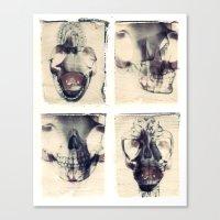 X Ray Terrestrial No. 7 Canvas Print