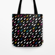 Bright Droplets Tote Bag