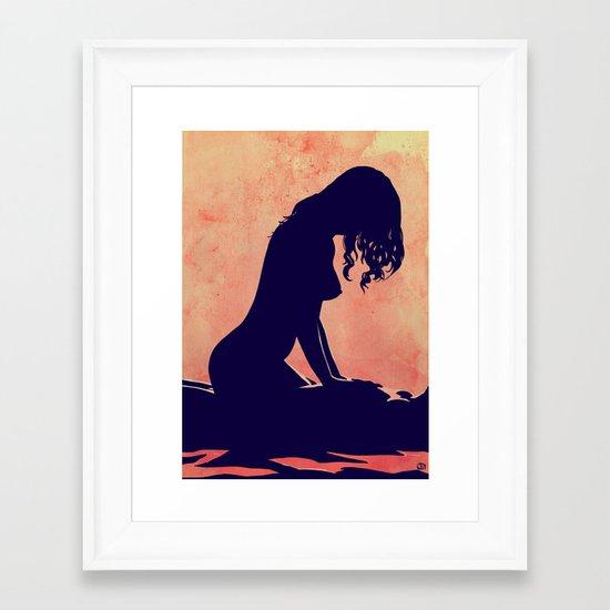 Lovers nr 1 Framed Art Print