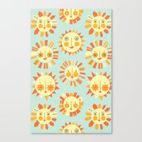 Canvas Print featuring Let it shine by shiny orange dreams