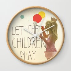 Let the children play Wall Clock