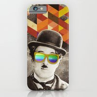 iPhone & iPod Case featuring Public Figures Collection - Chaplin by Elo Marc