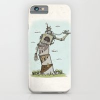 iPhone & iPod Case featuring Crooked by Lee Grace Illustration