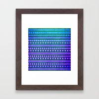 Aztec Night Framed Art Print