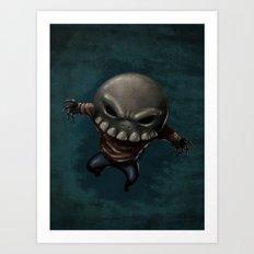 Skeleton Krueger Art Print