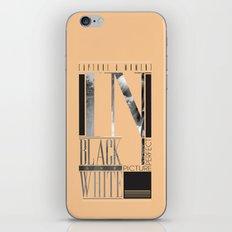 Capture a moment. iPhone & iPod Skin