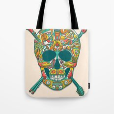 Music Isn't Dead Tote Bag