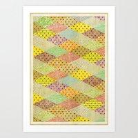 SPONGE CAKE / PATTERN SERIES 001 Art Print