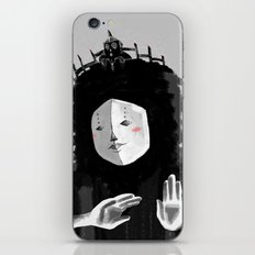Lovely Woman iPhone & iPod Skin
