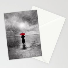 waiting in the sea II  -  by Viviana Gonzalez Stationery Cards