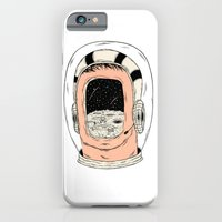 iPhone & iPod Case featuring From the Earth to the Moon by David Penela