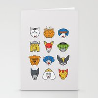 Super Dogs Stationery Cards