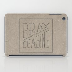 Pray Without Ceasing iPad Case