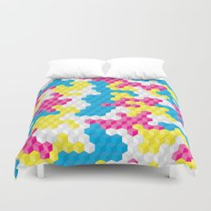 CUBOUFLAGE CANDY Duvet Cover