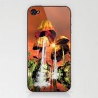 Mushrooms In The Sea iPhone & iPod Skin
