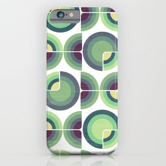 Green Fields Pattern iPhone & iPod Case