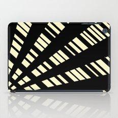 Fancy  |  Cream & Black iPad Case