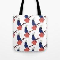Parrot Boys  Tote Bag