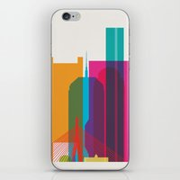 Shapes of Boston. Accurate to scale iPhone & iPod Skin