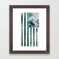 USA Wilderness Framed Art Print