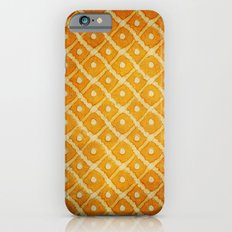 Yellow Pattern iPhone 6 Slim Case
