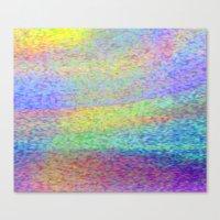 Spin World Canvas Print