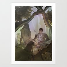 The Morgens Art Print