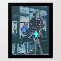 Melts In Your Mouth, Bur… Art Print