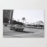 Stang Canvas Print