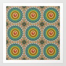 Panoply Pattern Art Print