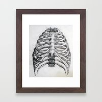 encaged Framed Art Print