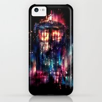 iPhone 5c Cases featuring All of Time and Space by Alice X. Zhang