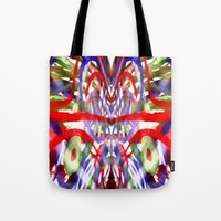 Color And Lines In Space Tote Bag