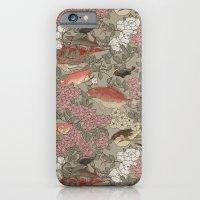 Fishes & Flowers - Seaml… iPhone 6 Slim Case