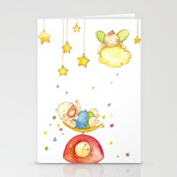 Baby weight Stationery Cards