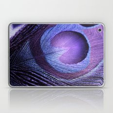 PURPLE PEACOCK Laptop & iPad Skin
