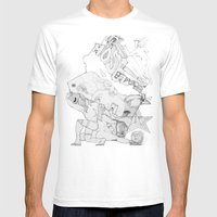 Key Mens Fitted Tee White SMALL