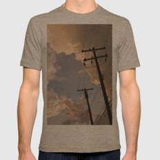 Runaway Mens Fitted Tee Tri-Coffee SMALL