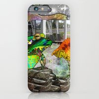 Doodlage 05 - Frog and Fungus   iPhone 6 Slim Case