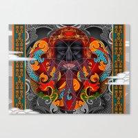 Sacred Geometry Canvas Print